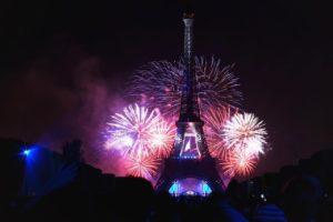 Fyrværkeri Frankrig Bastilledag